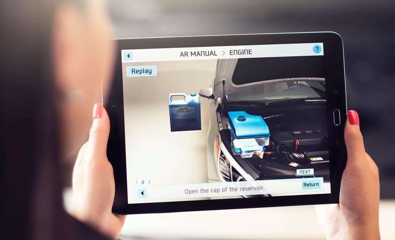 Hyundai продемонстрировала интерактивные инструкции для своих автомобилей
