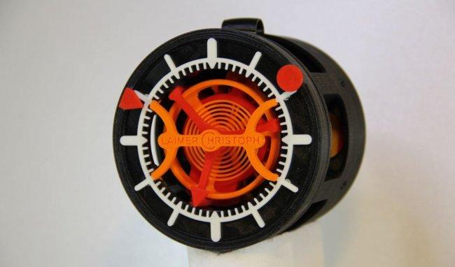 Первые карманные часы, распечатанные на 3D-принтере