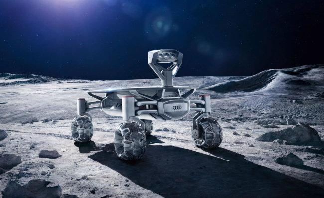 Компания Audi представила свой первый луноход Lunar Quattro