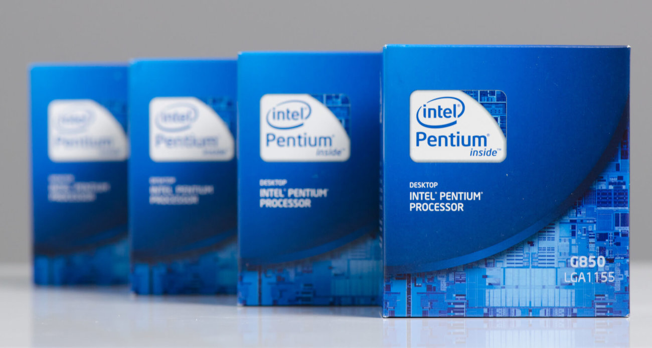 the history of intel