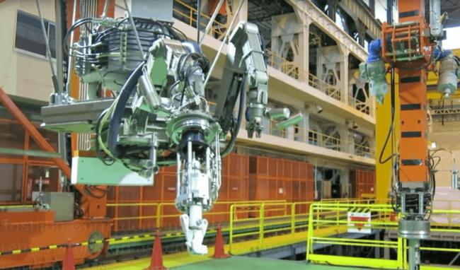 Toshiba построила робота для устранения последствий аварии на АЭС Фукусима-1