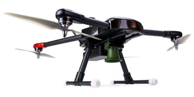 Отгоняющий птиц дрон