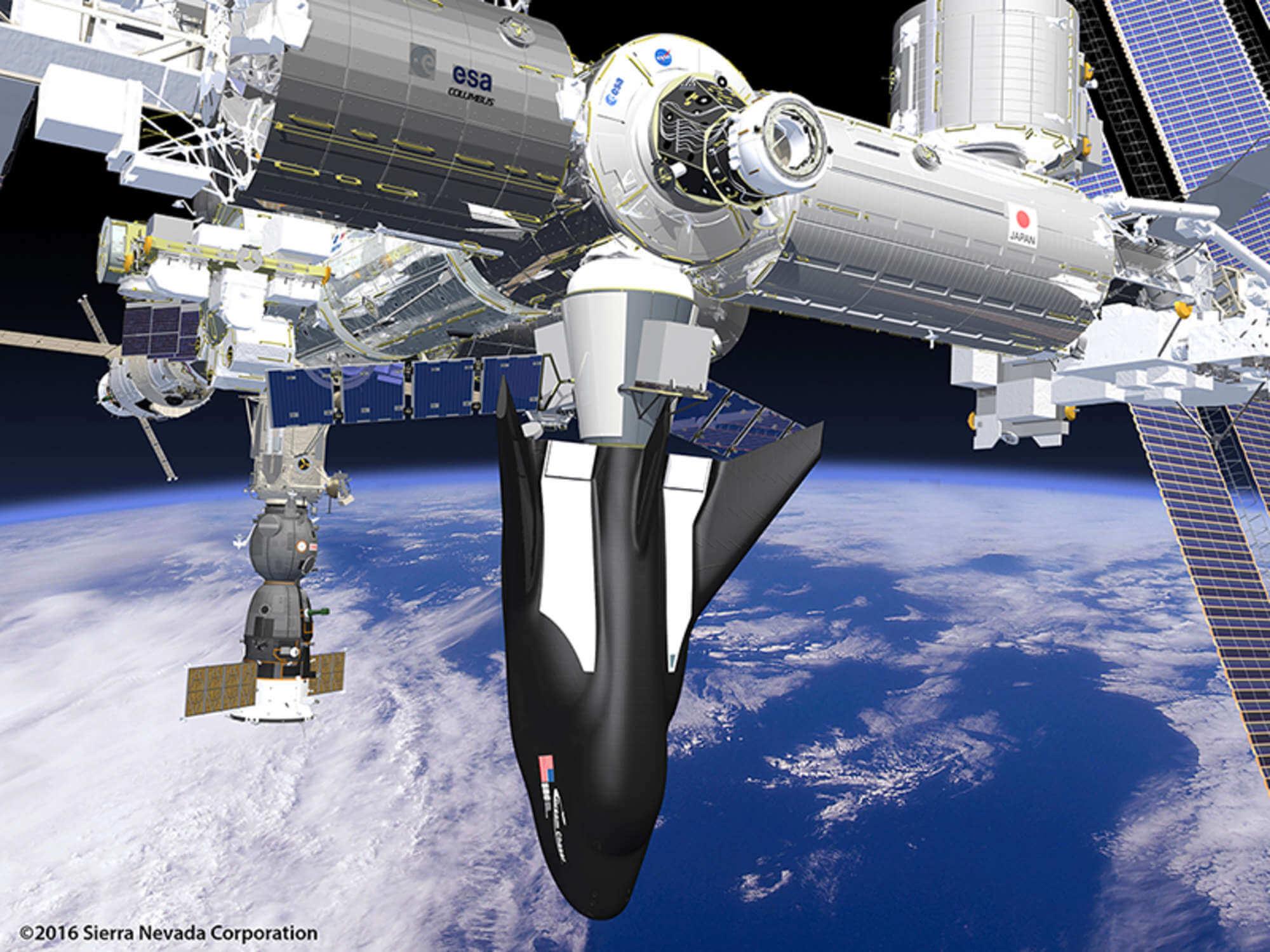 Sierra Nevada полетит к МКС, но у NASA нет четкого плана по Марсу