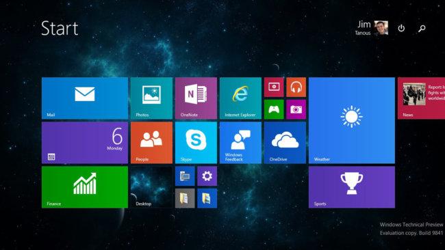 Software  | Windows 10 стала второй самой популярной ОС в мире | w10menu-650x366