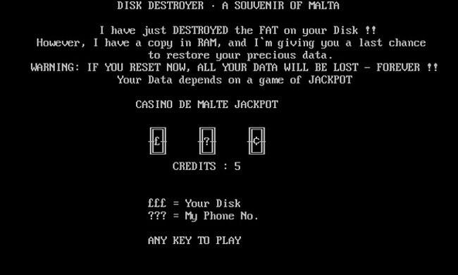 В Интернете открылся музей старых компьютерных вирусов