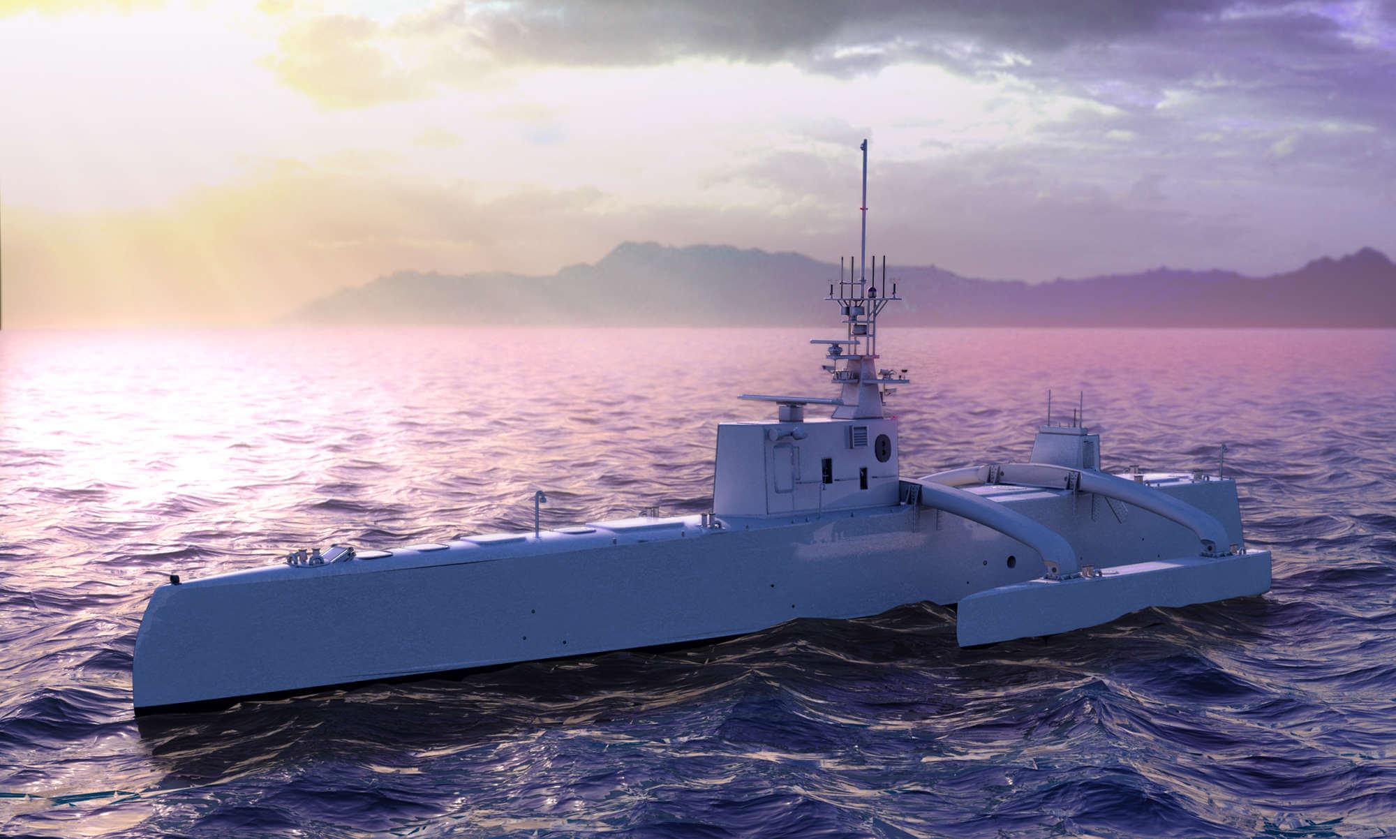 DARPA создаст 40-метровый автономный корабль