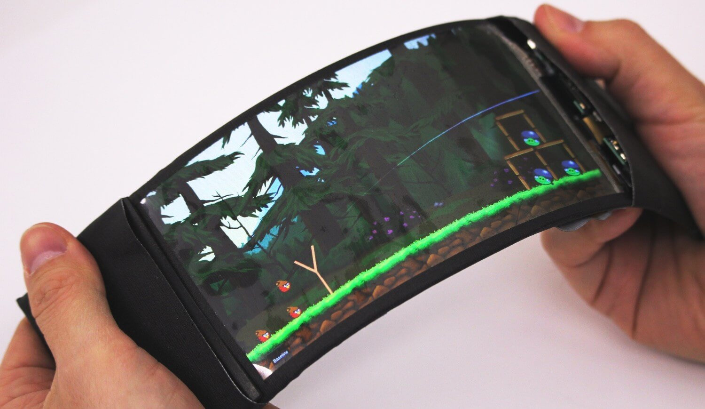 #видео | Каким может стать интерфейс смартфона с гибким экраном