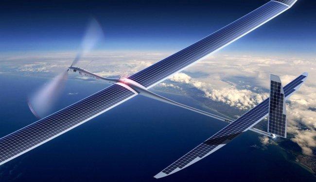 Автономные дроны Google будут раздавать 5G-интернет