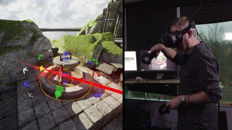 Видеоигры теперь можно создавать, не выходя из виртуальной реальности