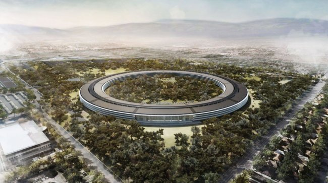 Как продвигается строительство нового кампуса Apple