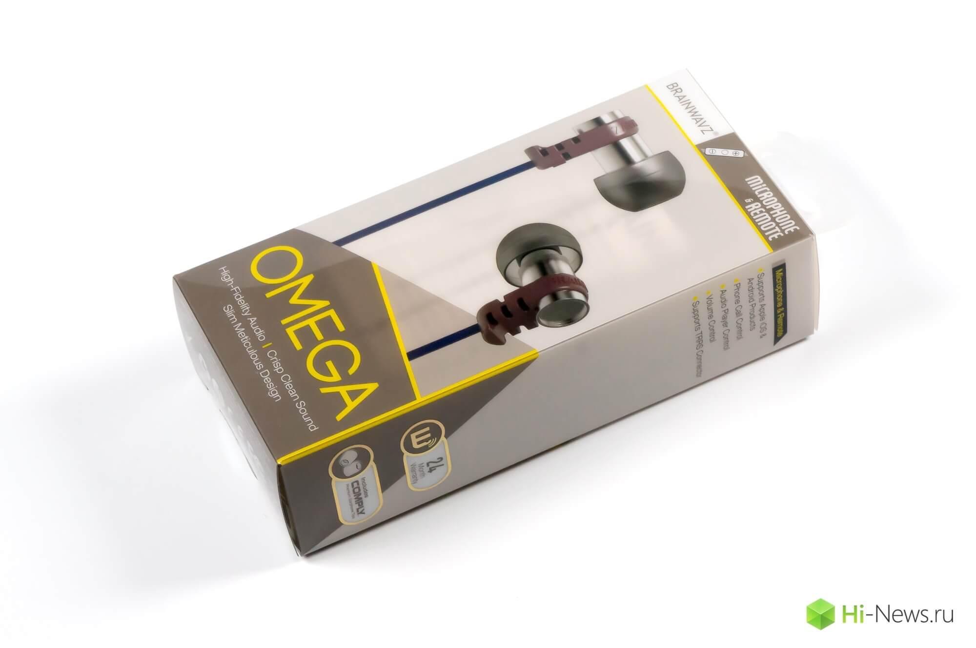 Brainwavz Omega — обзор наушников