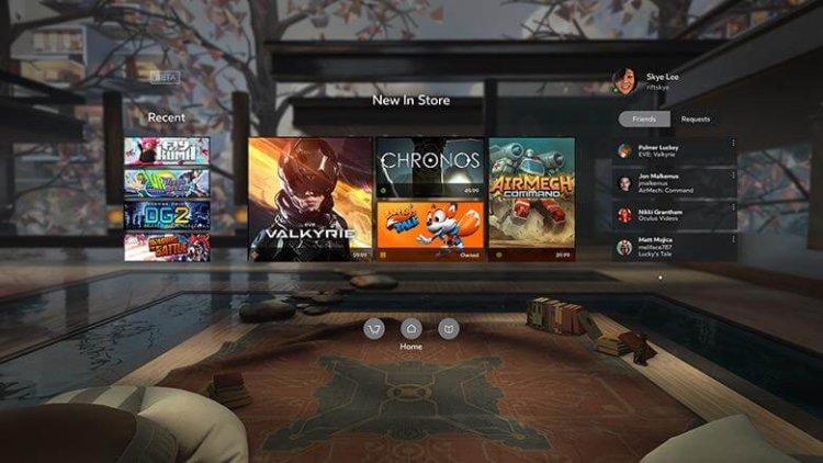 Все игры стартовой линейки для VR-гарнитуры Oculus Rift