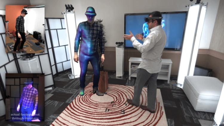 Microsoft продемонстрировала технологию голографической телепортации