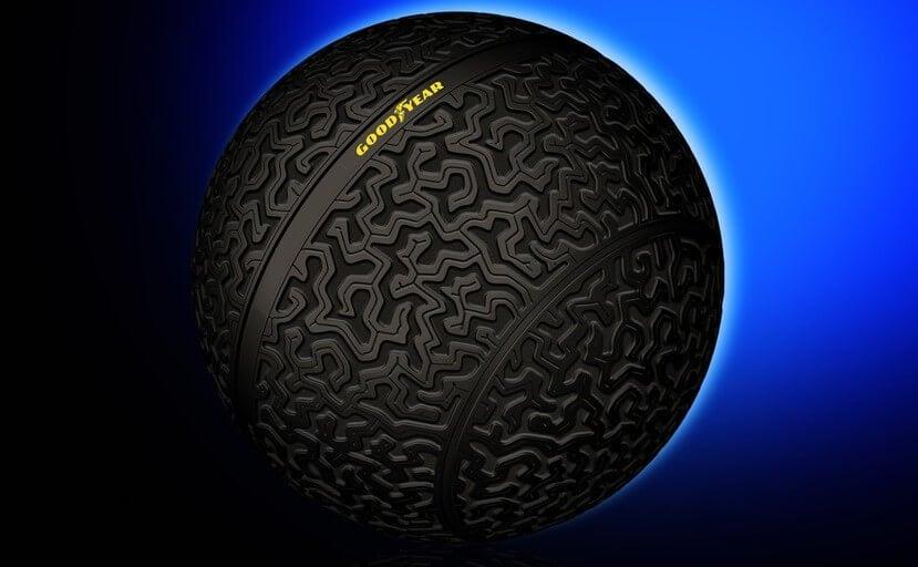 #видео | Компания Goodyear показала концепт автомобильных шин будущего