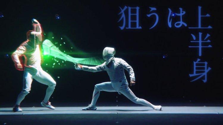 Японцы превратили фехтование в настоящее пиршество для глаз