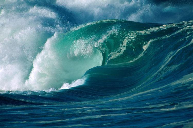 волны цунами