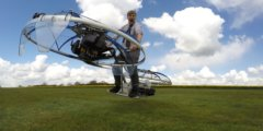 Колин Фёрз изобрёл летающий байк