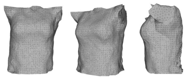 3D-изображения, полученные при помощи Kinect