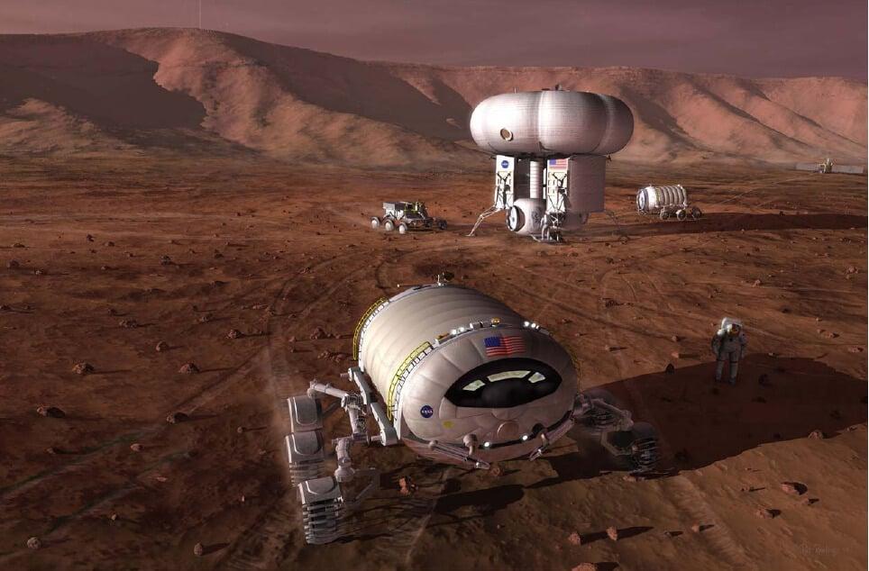 NASA: придется подождать в постоянной колонией на Марсе