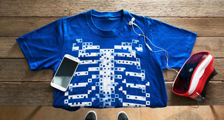 Virtuali-Tee: лучший способ изучать анатомию по футболке