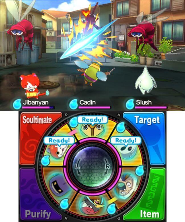 Обзор игры Yo-Kai Watch