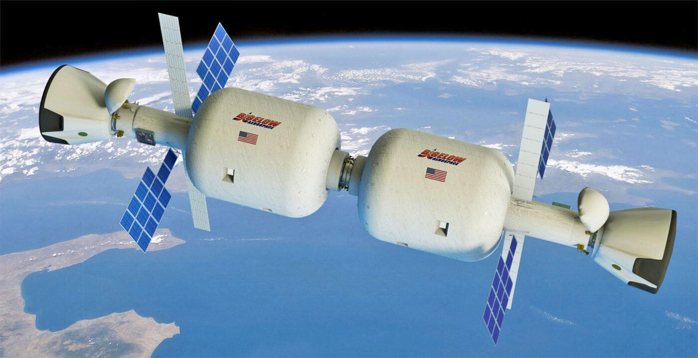 На орбите может появиться надувная космическая станция