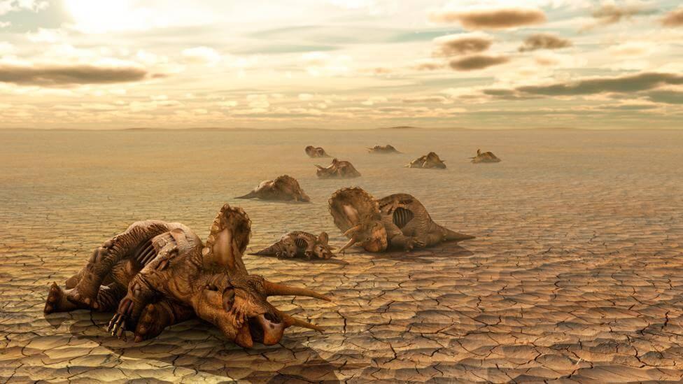 загибель динозаврів
