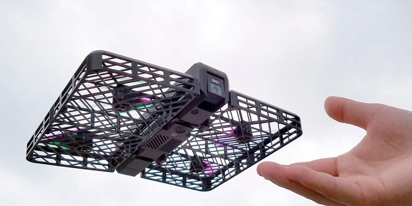 Летающий дрон умеет отслеживать лица