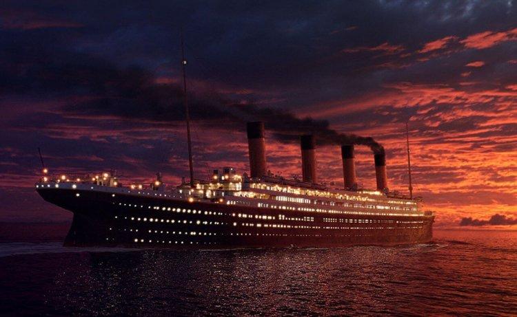 Специалисты изобразили затопление «Титаника» в реальном времени
