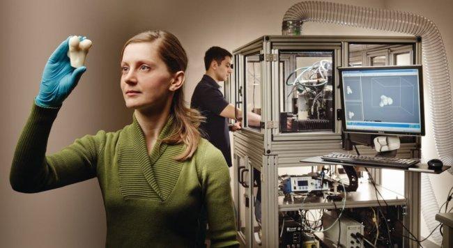 3D-печатные имплантаты восстанавливают костные и хрящевые ткани