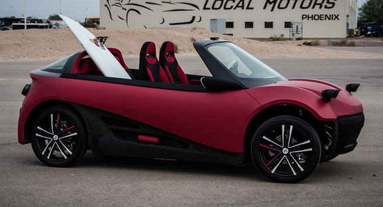 3D-печатные автомобили пойдут в серию