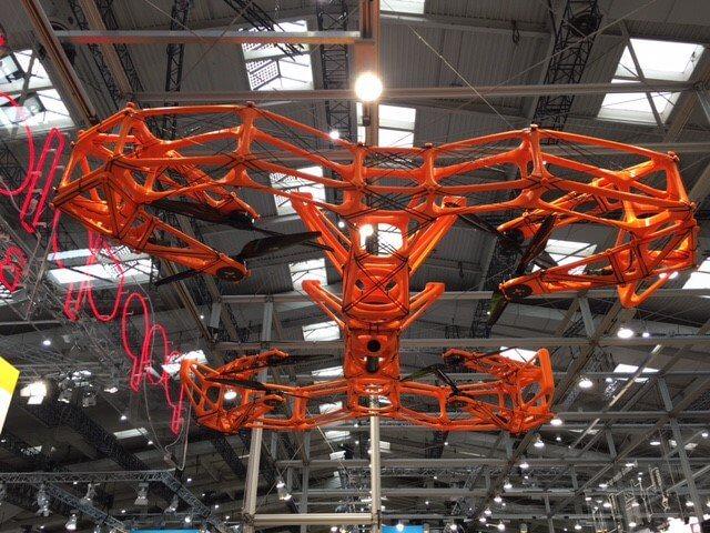 Двухметровый 3D-печатный беспилотник DUSTER