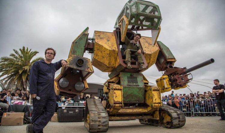 В США создадут спортивную лигу боевых роботов