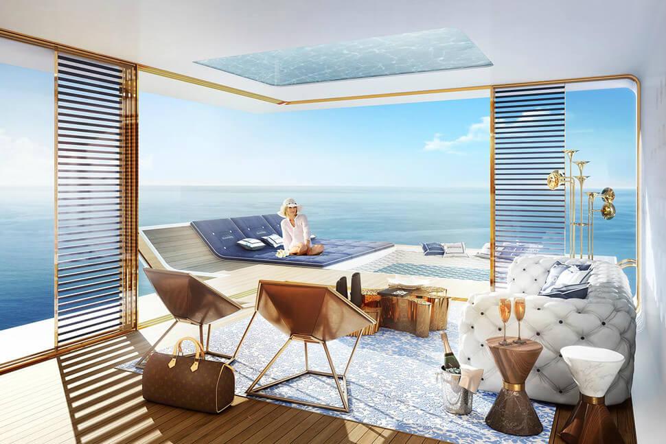 У побережья Дубая появятся удивительные плавучие виллы