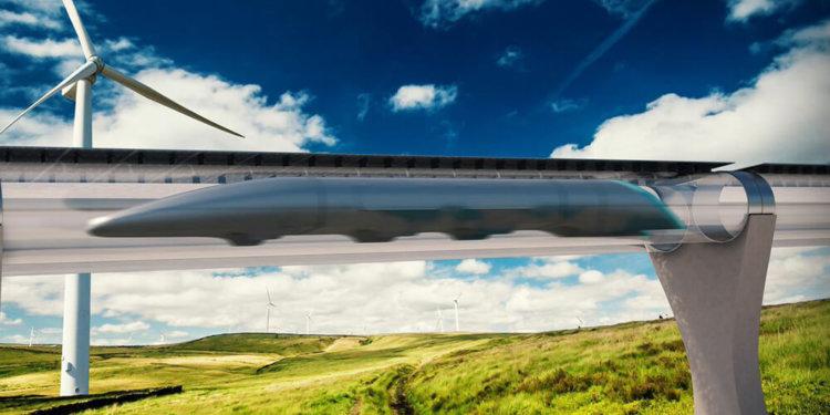 Пассажиры Hyperloop будут видеть мир через электронные окна