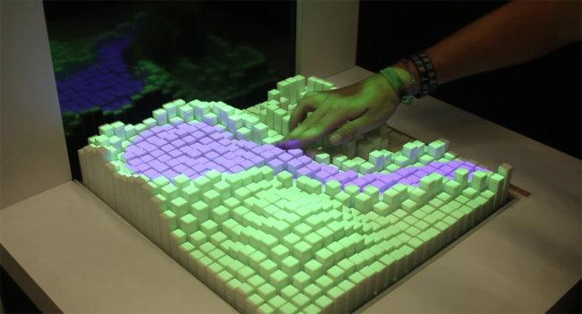 Materiable – прототип тактильного интерфейса, меняющего свою форму