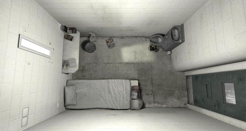 С помощью VR можно оказаться в тюрьме