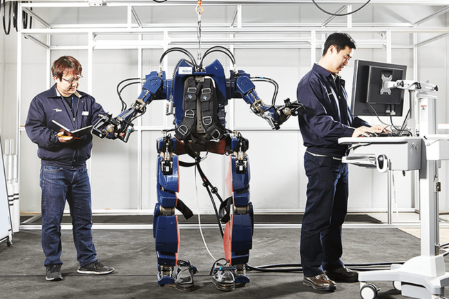 Hyundai продолжает работу над экзоскелетами