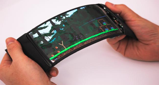 Разработан прототип гнущегося 3D-смартфона