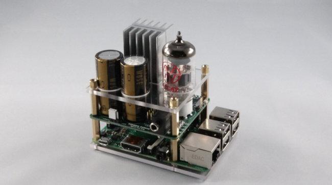 Ламповый усилитель для наушников на базе Raspberry Pi