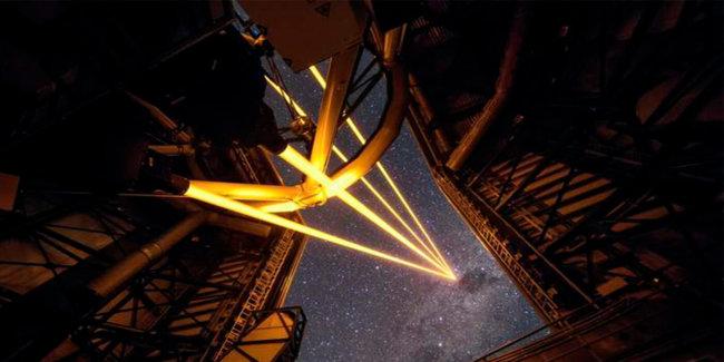Четыре лазерных луча позволят телескопу делать снимки чётче