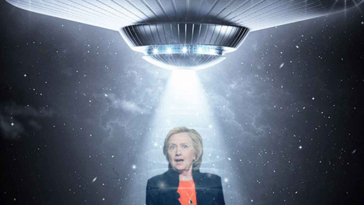 Почему Хиллари Клинтон не сможет раскрыть материалы о пришельцах?