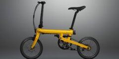 Xiaomi представила складной электровелосипед Mi Qicycle
