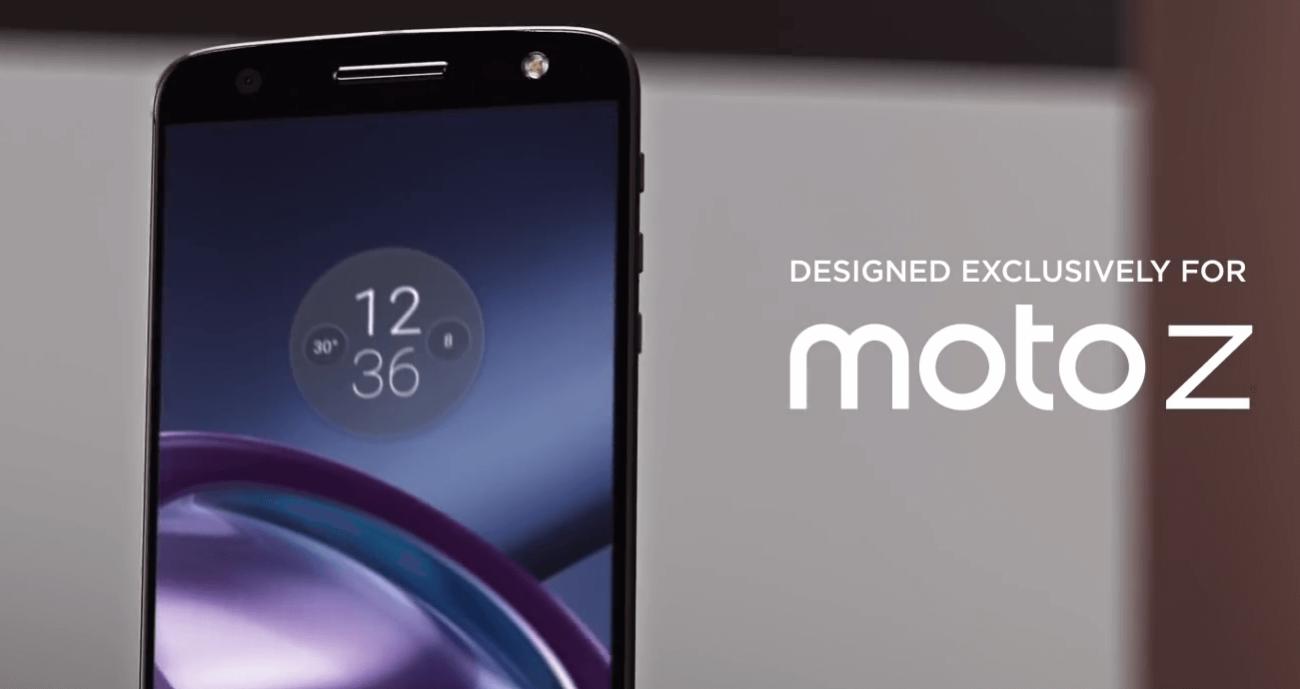 Мото Z: модульные смартфоны от Lenovo