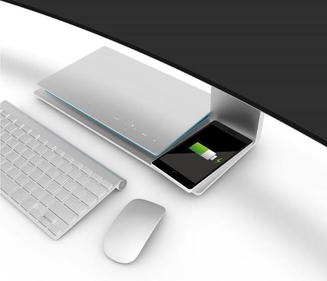 #computex | U Surfing — монитор от TPV с беспроводной зарядкой