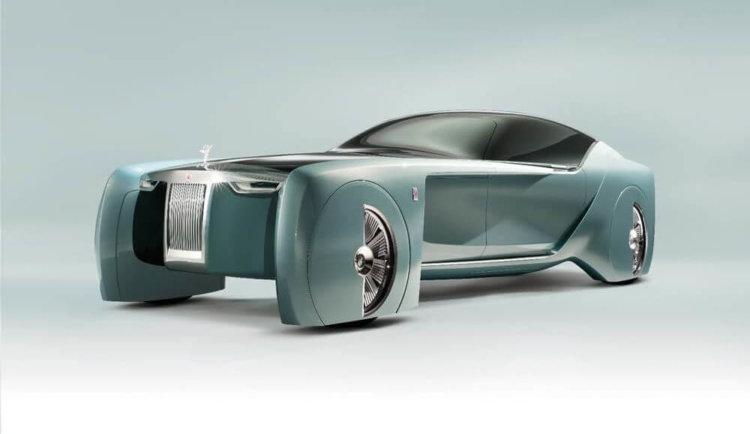 Компания Rolls-Royce представила концепт роскошного автомобиля из будущего
