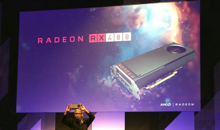 AMD представила бюджетную видеокарту Radeon RX480