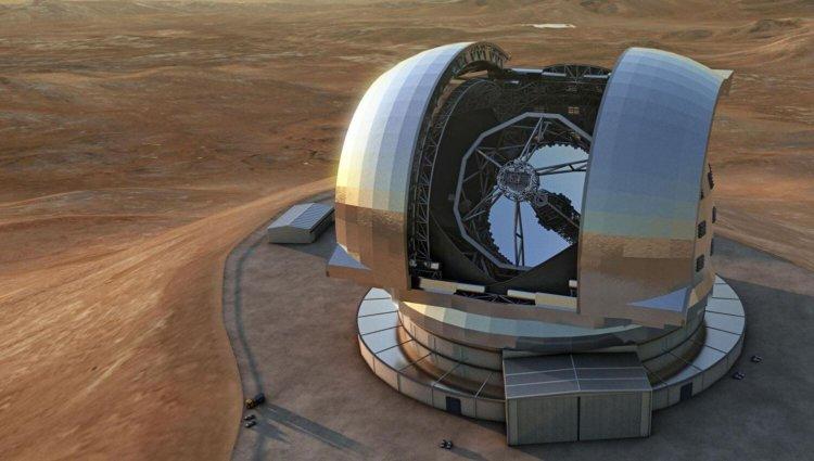 Как будет выглядеть крупнейший в мире телескоп
