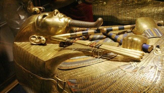 Клинок фараона Тутанхамона был выкован из метеорита