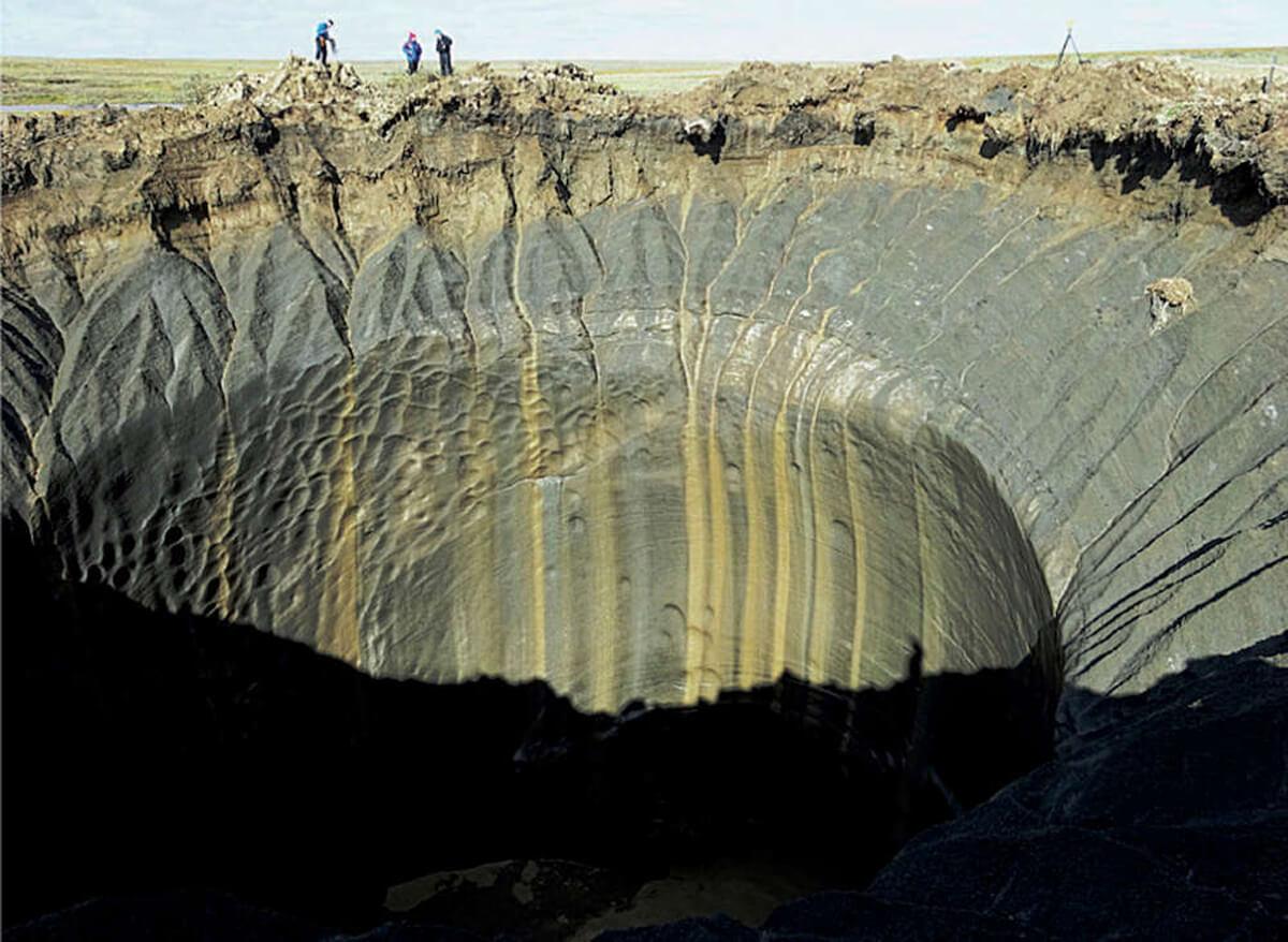 В Сибири найдены загадочные кратеры